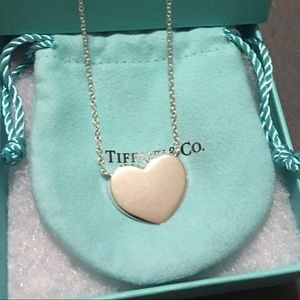 Tiffany & CO silver Heart charm Gently pre-owned